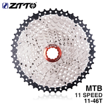 ZTTO MTB Mountain Bike Bicycle Parts 11speed 11v 11s Freewheel Cassette 11-46T Compatible for parts M9000 XT SLX R gx x1 xo