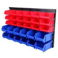 32 pcs Stacking Boxes Wall Shelf Box Storage Boxes Shed Rack Storage System