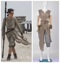 Star Wars 7:The Force Awakens Rey outfit Cosplay Costumes