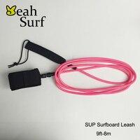 SUP Surfboard 9ft Leash 8mm 2 rvs swivel Surf Rechte Leash