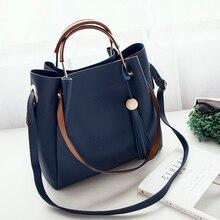 Fashion Designer Women Tassel Handbags Lady Casual Style Bucket Tote Bag Soft Shoulder Bag bolsos