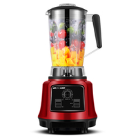 220V AUX 2.2L Multifunctional Electric Smoothie Maker Machine Household/Commercial Sand Ice Maker Machine For Shop