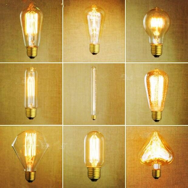 Lâmpadas Incandescentes t45 g95 Modelo Número : Edison