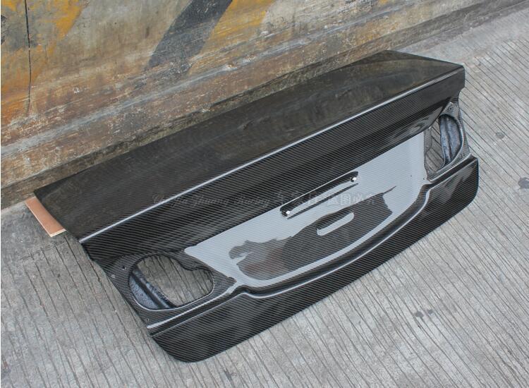 Carbon Fiber Car Trunk Spare Spoiler Cover For HONDA CIVIC FD2 2006-2011...