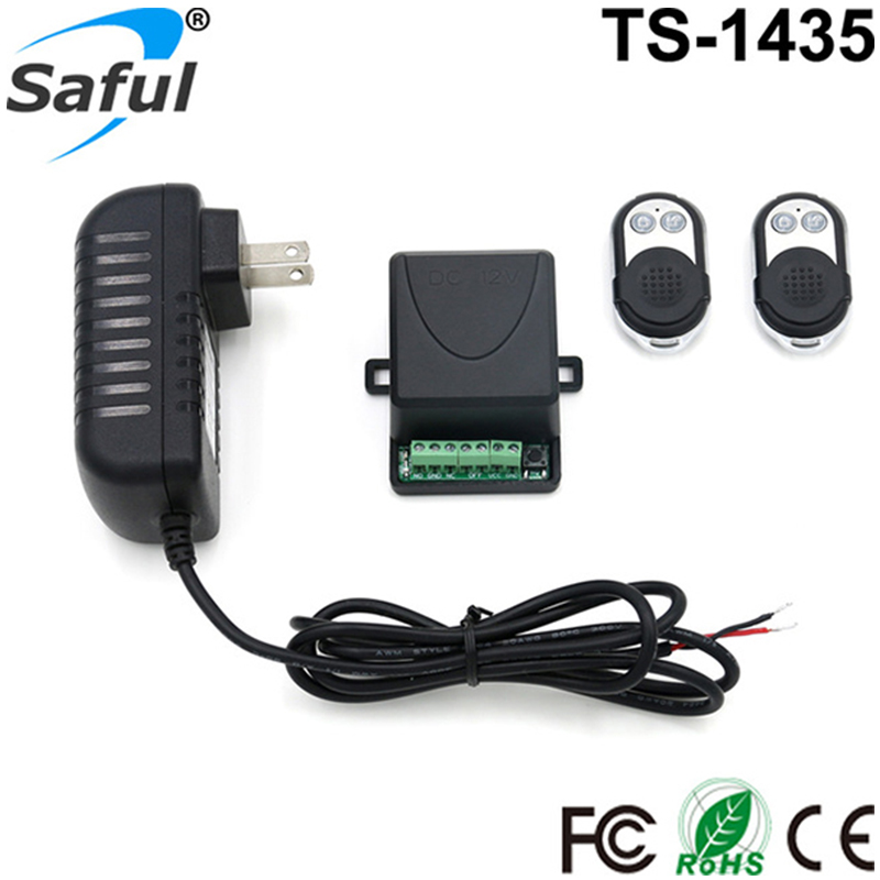 Saful 12V Electric Lock remote control+remote unlock Door Access Switch Electric Control Lock Gateway Access Control System saful 12v electric lock remote control remote unlock door access switch electric control lock gateway access control system