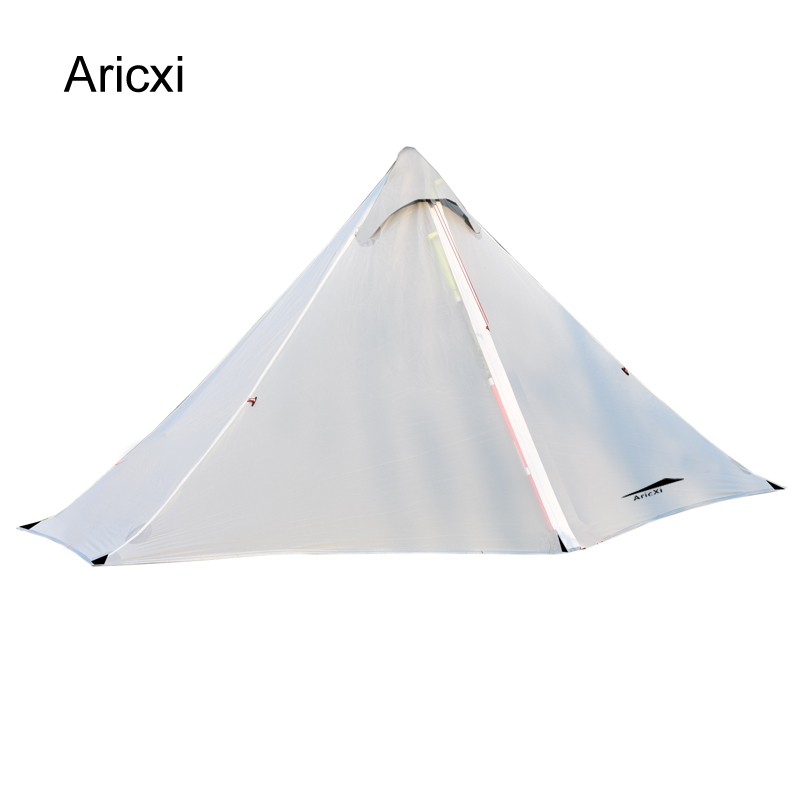 Aricxi Oudoor Ultralight Tenda di Campeggio Professionale impermeabile Senza Stelo Tenda