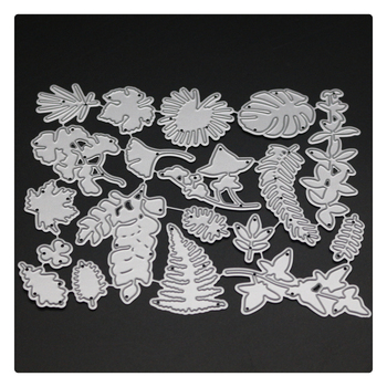1747 Leaves Cover Scrapbook Metal Cutting Dies For Scrapbooking Stencils DIY Album Cards Decoration Embossing Folder Die Cuts сарафан lmp lmp mp002xw13nh5