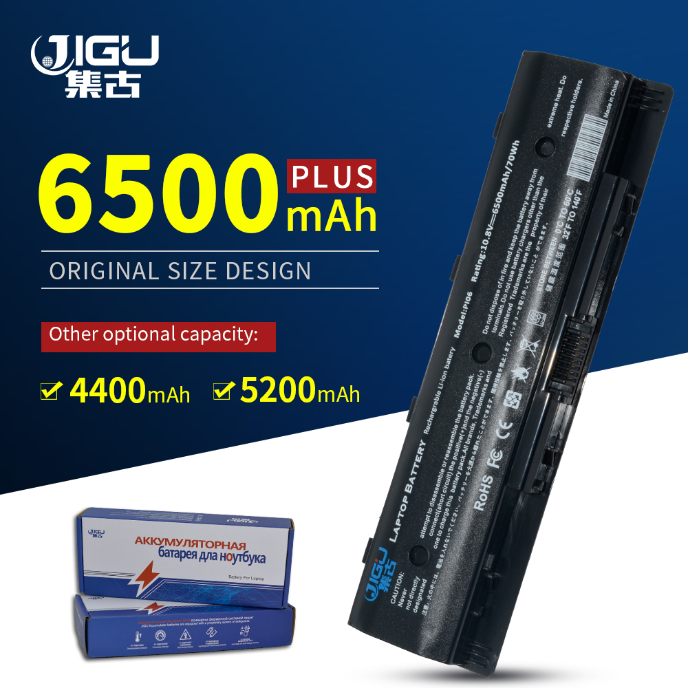 JIGU New Laptop Batteries HSTNN-LB4N P106 PI06 HSTNN-LB4O 15t 15z 17 17t FOR TouchSmart 14 14t For HP 14z 15 17z  Series