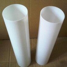 12 шт. od40x2x1000мм Акриловые молочно-белые трубы домашнее улучшение ПММА плексиглас светодиодные трубы пластиковые строительные материалы можно отрезать любой размер