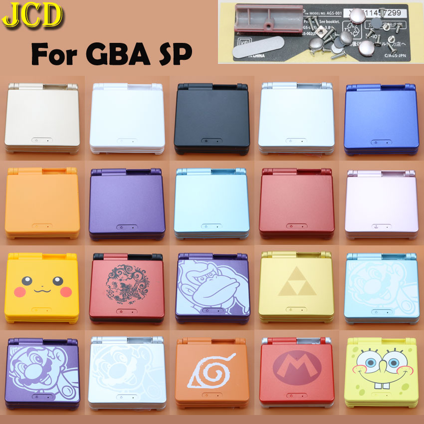 JCD Limited Edition Full Housing Shell For Nintend Gameboy Advance SP Game Console Cover Case For GBA SP