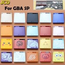 JCD מהדורה מוגבלת מלא שיכון מעטפת לnintend Gameboy Advance SP משחק קונסולת כיסוי מקרה עבור GBA SP