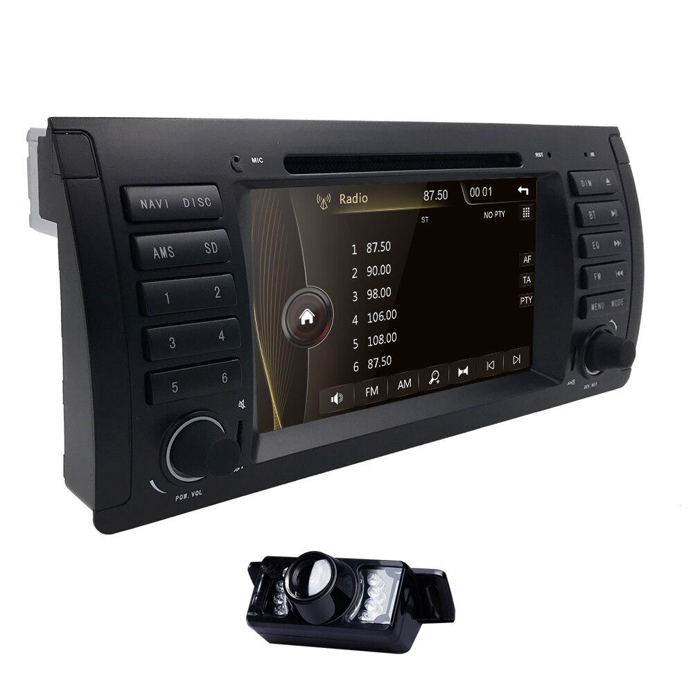 1 din 7 ''lecteur DVD de voiture Radio GPS pour BMW E53 E39 X5 pièces de réglage M5 accessoires X5 E53 Navigation SWC RDS AM/FM iPod 3G CANBUS