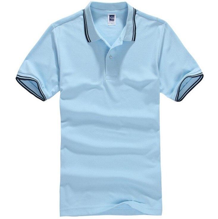 6dad76179140a Marca polo camisa homens casuais polo de manga curta camisas camisa ...