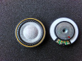 40MM wool earphone unit  DIY headphone unit hifi40mm copper rings true in hole large magnetic back speaker