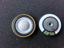 40MM wool earphone unit  DIY headphone unit hifi40mm copper rings true in hole large magnetic back speaker