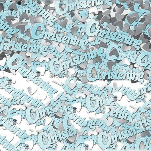 Free ship cheap 15g per pack its a boy girl blue pink baby shower Christening confetti party table scatters decorations