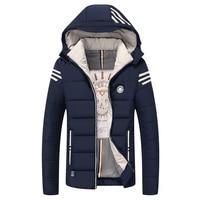 Plus Size 8XL 7XL 6XL men Parkas Jackets Coat COTTON Warm Outwear Hooded Softshell Men's Winter Jacket Trench Coat Down Parkas