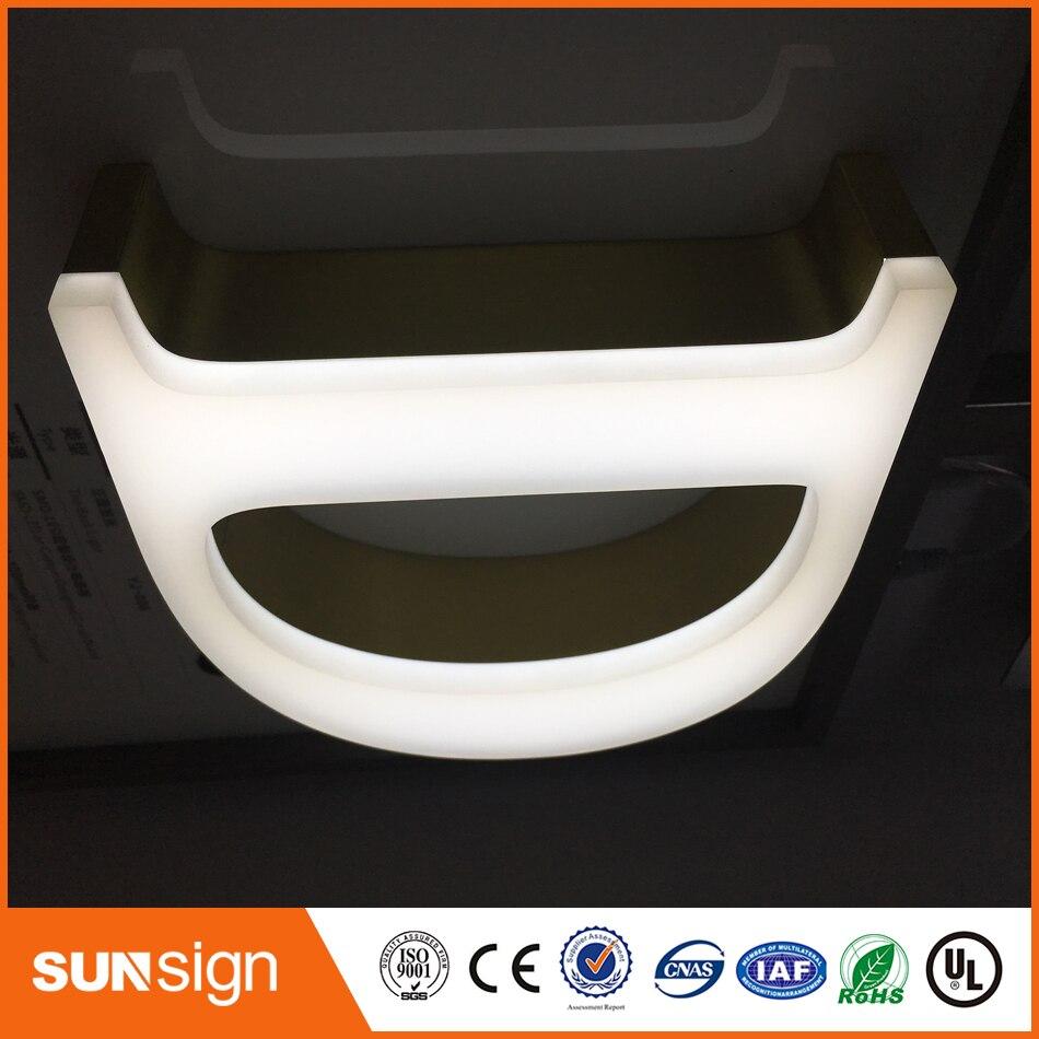LED Acrylic Custom Frontlit Letters