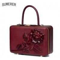 324db7179fc8d ... Handbags Women Bags Designer Handbags Women Famous. US $149.83 US  $68.92. Hakiki Deri kadın çanta Gül üç boyutlu kabartmalı lüks tasarımcı  çantaları ...