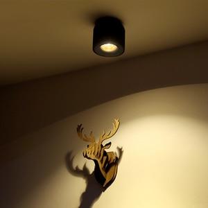 Image 2 - Aisilan LED 통 천장 스포트 라이트 생활 램프 북유럽 조명 부엌 통로 스포트 라이트 표면 탑재 AC90 260v