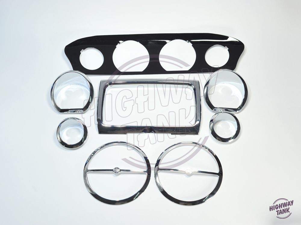8pcs Stereo Accent Inner Fairing Speaker Gauge Trim Ring case for Harley Glide 14-up куклы и одежда для кукол zapf creation baby born кукла мягкая 30см 823 439