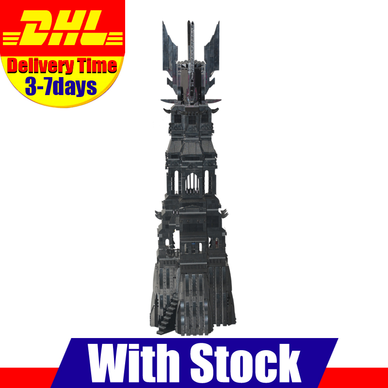 2016 New LEPIN 16010 2430Pcs Lord of the Rings The Tower of Orthanc Model Building Kits Blocks Bricks Toys Gift 10237 hot sale the hobbit lord of the rings mordor orc uruk hai aragorn rohan mirkwood elf building blocks bricks children gift toys