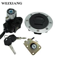 For Suzuki GSXR600 GSXR750 Motorcycle Ignition Keys Switch Assembly Fuel Tank Cover Lock Gas Cap Engine Hook Locking Key