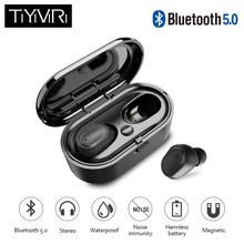 bluetooth wireless earphone Headphones TWS Wireless Earbuds 5.0 Headset Deep Ture Wireles Stereo Noise Cancelling new