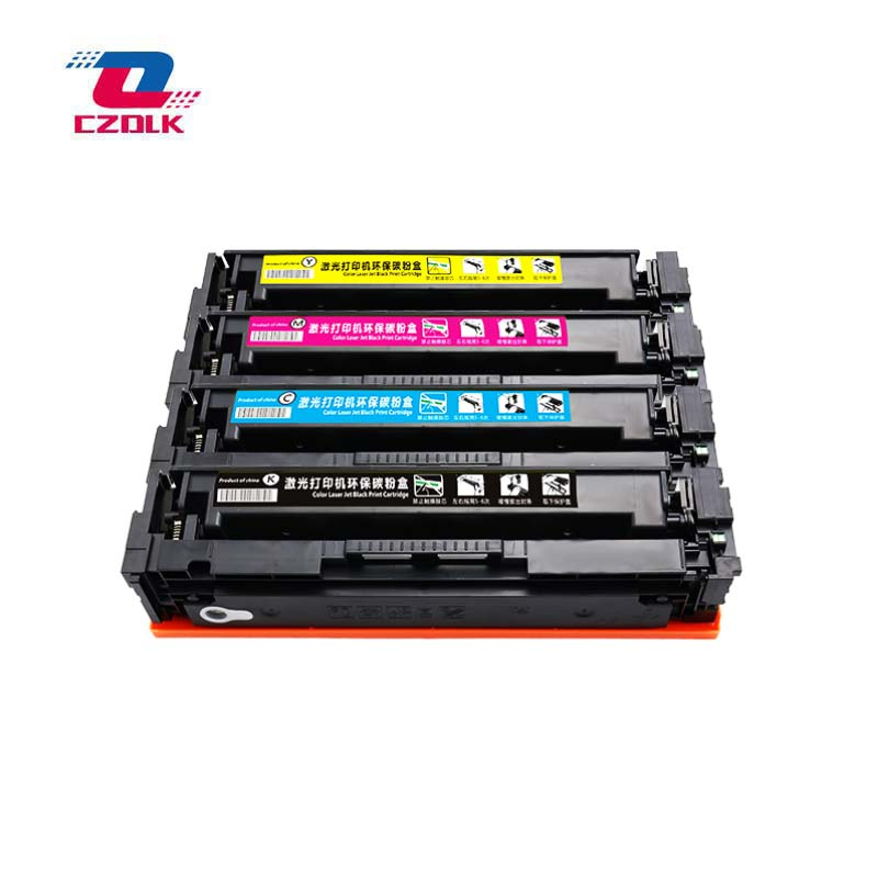 New compatible 203a Toner Cartridge for HP CF540a CF541a CF542a CF543a M254dw 254nw MFP M281cdw 280nw 1set=4pcs No chipNew compatible 203a Toner Cartridge for HP CF540a CF541a CF542a CF543a M254dw 254nw MFP M281cdw 280nw 1set=4pcs No chip
