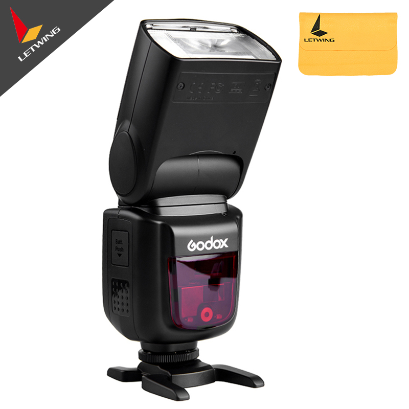 Newest Godox Ving V860II V860II S E TTL HSS 1 8000 Li ion Battery Speedlite Flash