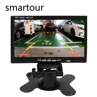 Smartour 7 car Rear view Reverse Camera with 7 Inch TFT Monitor LCD Display Screen Car RearView parking camera for trucks bus