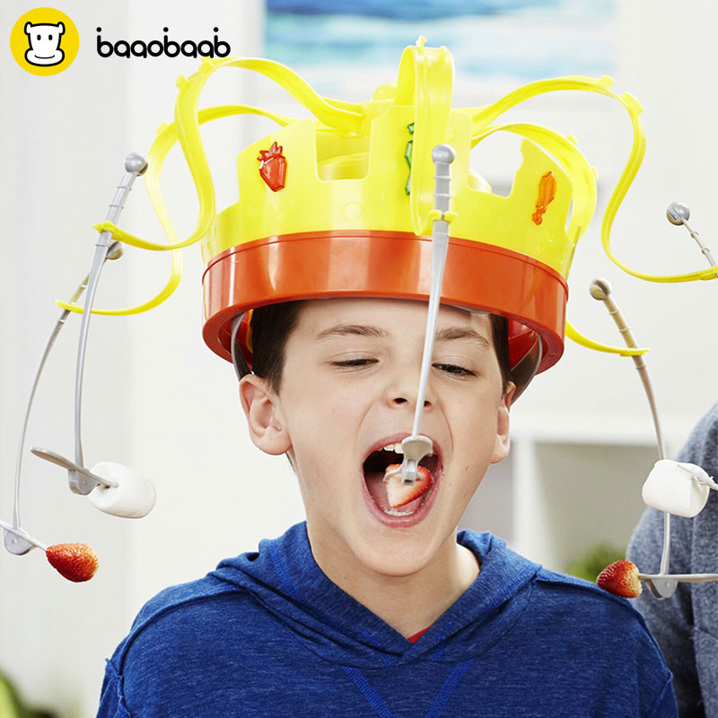 Crown Food Hat Funny Tidy Party Game Toy.#funny #party ...