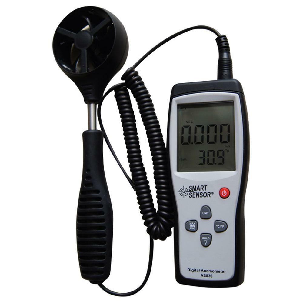 Anemometer Digital LCD Display Split Type Wind Speed MeterAnemometer Digital LCD Display Split Type Wind Speed Meter