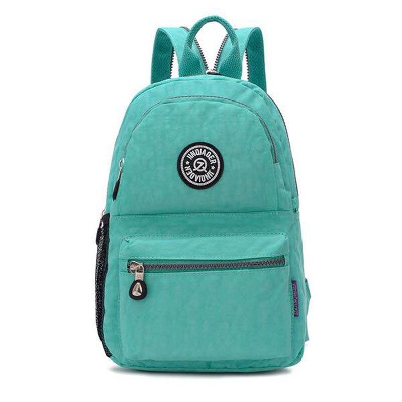 Women Backpack Mochila School-Bags Teenage Waterproof Nylon Girls Casual for Travel Laptop