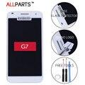 Probado original de 5.5 pulgadas negro blanco 1280x720 pantalla para huawei g7 pantalla táctil lcd con marco g7-i01 g7-i03 reemplazo