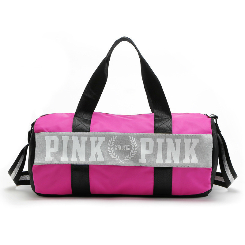 Модная одежда для девочек в полоску вещевой мешок розовый Виктория пляжная сумка большой Ёмкость Secret ночь Weekender VS сумка ...