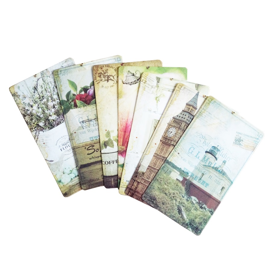 20pcs/pack Vintage Romantic Post Card Classic Paris Card Set Memory Postcards Can Be Mailed Greeting Card Office&School Supplie 5