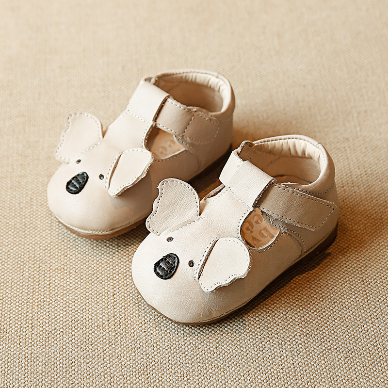 Genuine Leather Baby shoes Cartoon