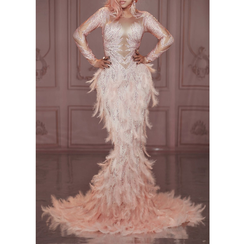 Prom Costume Sparkly Long 5