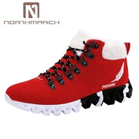 NORTHMARCH Men's Shoes Winter Sneakers Shoes Boots Men Footwear Keep Warm Snow Shoes Trekking Boots Outdoor Casual Shoes