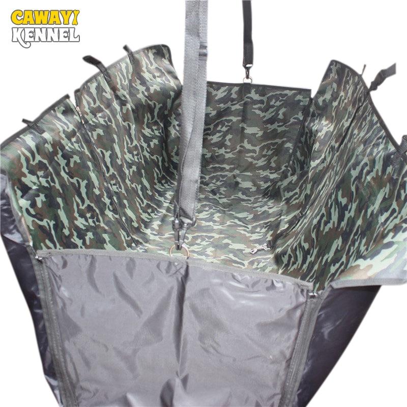 CAWAYI KENNEL Camouflage Huisdier Carriers Achterhond Autostoel Cover - Producten voor huisdieren