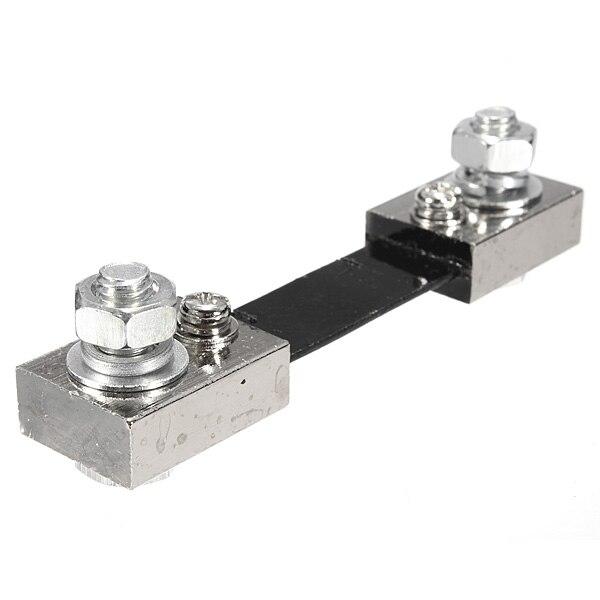 100A 75mV DC resistencia de derivación de corriente Panel Digital analógico medidor nuevo