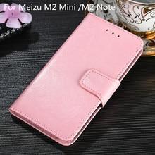 Case for Meizu M2 Mini M2 Note Fashion Pu leather Wallet Cover Card Slot Flip Case Magnetic Fashion Case Kickstand Strap смартфон meizu m2 mini gray