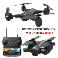 HYH1 Dron FPV Drones with Camera HD Quadrocopter Optical Positioning Drone Juguetes Key Return Quadcopter Drohne RC Helicopter