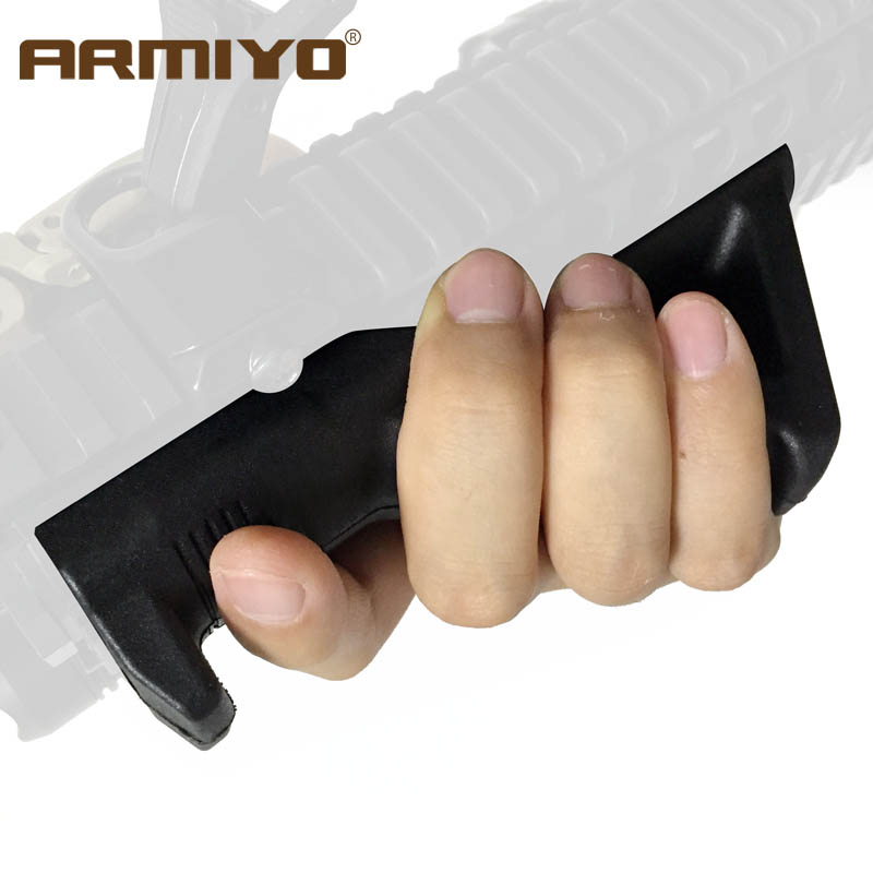 Armiyo Tactical ARMAFG1 1st Gen Fore Angled Handle Grip Gun Rack Shooting Hunting Accessories Size m4