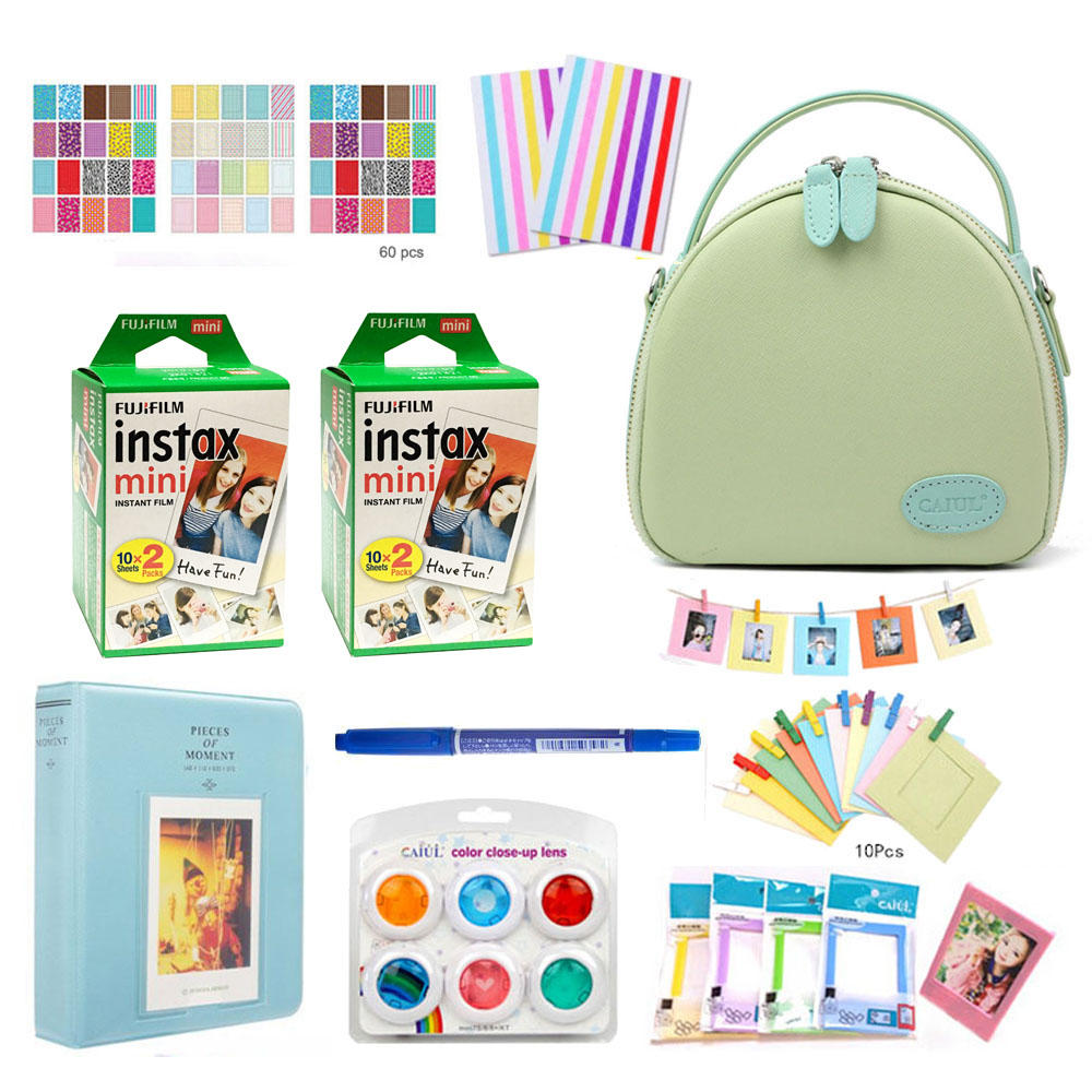 10 In 1 Fujifilm Instax Mini Instant Camera Case Accessories Mini 8 Mini 9 7S Fi