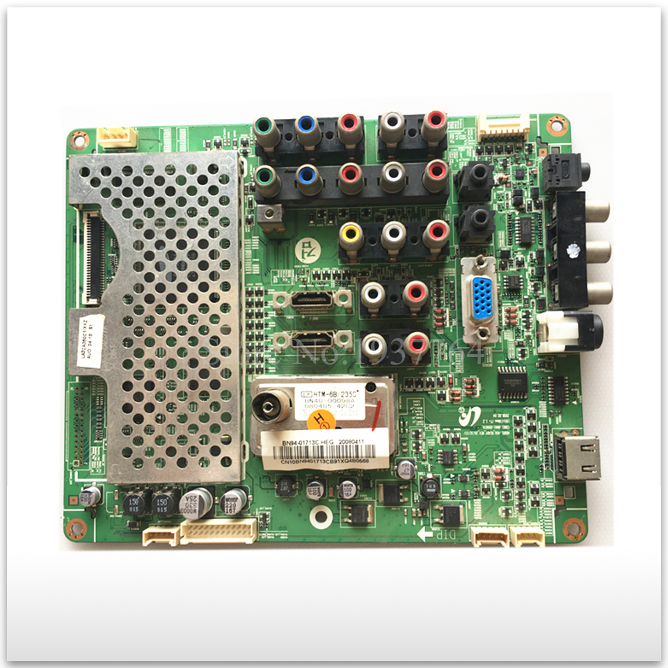 90% new for Original LA32A350C1 board BN41-00987A with T315XW02 V.L 4h v1448 291 bi t315xw02 screen