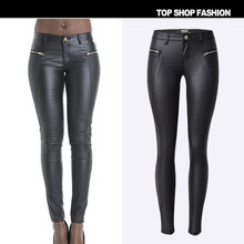 2017 Winter Autumn Women Pants Pu Padded Leggings Plus Size Leggins Pantalones Mujer Pantalon Femme Faux Leather pants