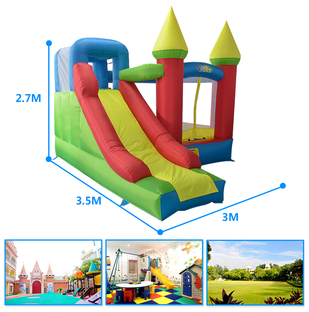 HTB1jBsZSXXXXXcCXpXXq6xXFXXXP - YARD Residential Nylon PVC Inflatable Kids Jumping Castle with Blower