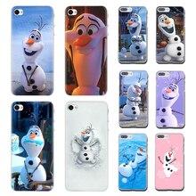 Cartoon Olaf Snowman Frozen Hard phone cover case for
